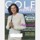GOLF FOR WOMEN November December 2003 Magazine NANCY LOPEZ PUTTING BASICS Canyon Ranch