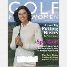 GOLF FOR WOMEN November December 2003 Magazine NANCY LOPEZ PUTTING BASICS Canyon Ranch