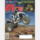 4 Wheel ATV Action December 2004 Magazine Honda 400EX Rancher Sportrax 90 KFX NINJA Suzuki 700