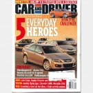 CAR AND DRIVER February 2006 Magazine Lotus Exige Toyota FJ Cruiser Yaris Bentley Flying Spur