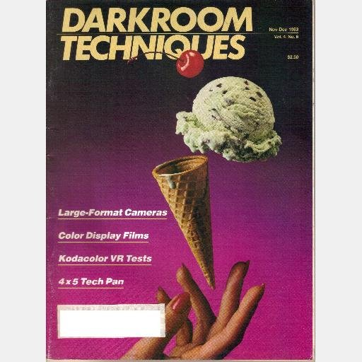 DARKROOM TECHNIQUES November December 1983 Magazine Kodacolor VR Jim Parks Zone Photography