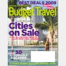 ARTHUR FROMMER'S BUDGET TRAVEL MAY 2009 Magazine Family Camps HEARST CASTLE Istria OREGON