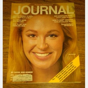 LADIES HOME JOURNAL March 1973 Magazine Vol XC No 3 MY SISTER JOAN KENNEDY cover