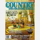 COUNTRY DECORATING IDEAS Magazine Spring 2006 Magazine No 71 Folly 101 Jim Strickland Watercolor FL