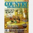 COUNTRY DECORATING IDEAS Magazine Spring 2006 Magazine No 71 Folly 101 Jim Strickland Watercolor FL