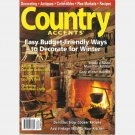 COUNTRY ACCENTS Winter 2007 Magazine White House Inn Cooperstown NY Publick House Inn Sturbridge MA