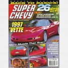 SUPER CHEVY May 1997 Magazine Project Speedwagon Engine Blueprinting Corvette Ralph White Emporium