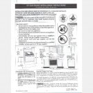 Frigidaire 30 inch gas range INSTALLATION INSTRUCTIONS 316105822 wiring diagram FGF355CGBD