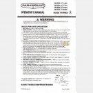 PARAMOUNT ELECTRIC HEDGE TRIMMER OPERATORS MANUAL Model HT1400 HT1700 HT1900 HT2200 Allegretti Co