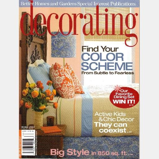 Decorating Winter 2007 Better Homes And Gardens Special