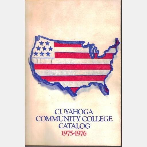 CUYAHOGA COMMUNITY COLLEGE OH Ohio Catalog 1975 1976
