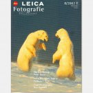 LEICA FOTOGRAFIE International November 2002 8 2002E Oliver Brachat Norbert Rosing Polar Bears
