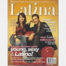 LATINA October 2005 Magazine Freddie Prinze Jr Jacqueline Obradors