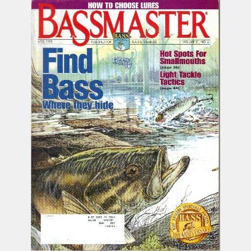 BASSMASTER April 1998 Vol 31 No 4 Pete Daniels Mississippi MIKE BALDWIN Lake Havasu Invitational