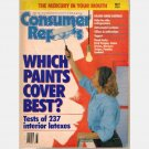 CONSUMER REPORTS May 1991 Magazine Which Paints Cover Best Latex FORD TEMPO Pontiac Sunbird
