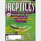 REPTILES March 2001 Vol 9 No 3 Magazine Neotropical Herping VIPER GECKOS Breeding Pond Turtles