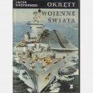 OKRETY WOJENNE SWIATA Jacek Krzewinski POLISH Navy Warships 1993 ISBN 83850001719