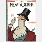THE NEW YORKER Feb 18 1961 February 18 1961 Magazine Cecil Green John Updike The Doctor's Wife