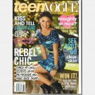 TEEN VOGUE February 2010 Magazine JESSICA SZOHR Rebel chic Stoery Schifter