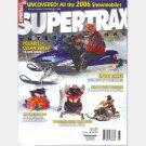 SUPERTRAX INTERNATIONAL March 2005 Magazine Polaris Ski Doo Yamaha Attak Nytro Apex CAT