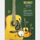 FIRST QUALITY MUSICAL SUPPLIES Catalog Vol 31 No 1 2001 2002 Weber Mandolin Santa Cruz Guitar