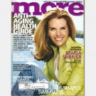 MORE May 2004 Magazine MARIA SHRIVER cover Lisa Schroeder
