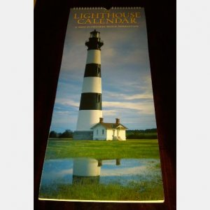 THE LIGHTHOUSE CALENDAR 2009 Gladstone Media ISBN 1933744367 UPC 682359744363
