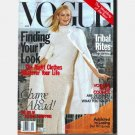 VOGUE August 1998 Magazine Carolyn Murphy cover