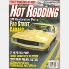 POPULAR HOT RODDING December 1996 Magazine GM Restoration Parts Camaro yellow Scott Kramer Pontiac