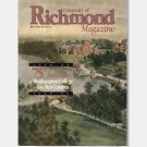 UNIVERSITY OF RICHMOND Magazine Winter 1990 Westhampton College Gothic Architecture 75th