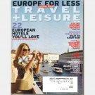 TRAVEL + LEISURE April 2009 Magazine Venice Provence Norway Baltic Coast London Madrid Paris