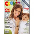 Cookie August 2008 magazine Amanda Peet Speaks Out For Vaccinations