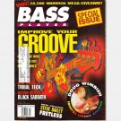 BASS PLAYER April 1993 Magazine DOUG WIMBISH Tribal Tech Black Sabbath Geezer Butler Gary Willis