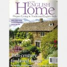 THE ENGLISH HOME October 2001 No 10 Magazine Cath Kidston Royal Crescent Hotel West Cornwall