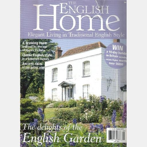 THE ENGLISH HOME June 2001 No 8 Magazine Helen Green David Mendel Chelsea Quarters O'Connors