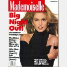 MADEMOISELLE December 1992 Magazine CINDY CRAWFORD COVER Eva Herzigova