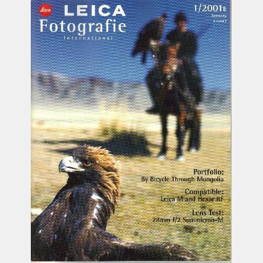 Leica Fotografie International January 2001 1 2001E OLAF MEINHARD Dominique Frakin Ulrich Munzer