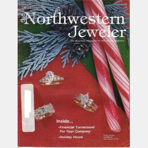 The Northwestern Jeweler 1990 1988 Magazine Lot 5 issues Trades Publishing Co