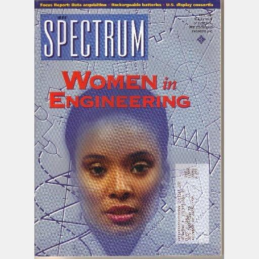 IEEE SPECTRUM May 1995 Magazine Women in Engineering Rechargeable Batteries US Display