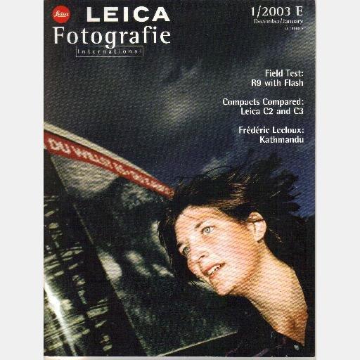 LEICA FOTOGRAFIE International December January 2003 1 2003E Frederic Lecloux Jorg Karrenbauer