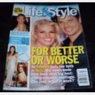 LIFE & STYLE Weekly November 22 2004 Magazine Jessica Simpson Nick Lachey