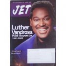 JET July 25 2005 Magazine Luther Vandross R B Superstar 1951 2005