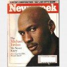 NEWSWEEK January 25 1999 Magazine Cover The Michael Jordan We Never Knew