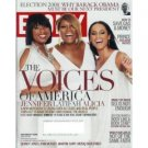 EBONY November 2008 Jennifer Hudson Prince Alicia Keys Latifah Quincy Jones Pam Veasey