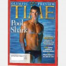 TIME August 9 2004 Magazine Olympic Review Pool Shark Michael Phelps