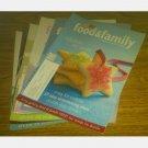 KRAFT FOOD & FAMILY Magazine lot 7 issues 2004 2005 2008
