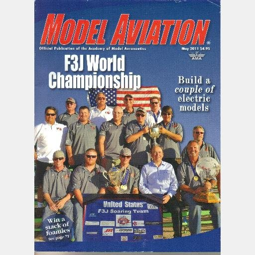 MODEL AVIATION Magazine MAY 2011 F3J World Championship Silk IKARUS AeroFly 5 Mister E