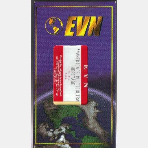 AMERICA'S MULTICULTURAL HERITAGE VHS Video EVN 268V