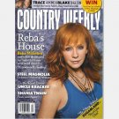 COUNTRY WEEKLY January 17 2011 Reba Mcentire STEEL MAGNOLIA Uncle Kracker Shania Twain SUGARLAND