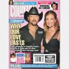 COUNTRY WEEKLY August 27 2007 Vol 14 Tim McGraw Faith Hill Kix Brooks Dale Earnhardt Sara Evans